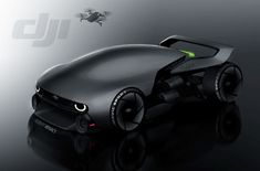 DJI Mavic Car on Behance by Robert Kovacs