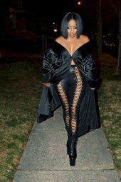 nice 50 Gorgeous All Black Winter Women Outfits Ideas http://viscawedding.com/2018/01/13/50-gorgeous-black-winter-women-outfits-ideas/