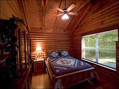 Bedroom - Creekside Cabin bedroom bathroom photos