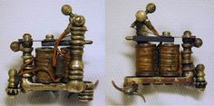 Brass Barocco Tattoo Machine By Bernhard