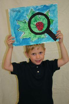 kindergarten student art