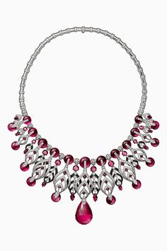 CARTIER. Necklace #Cartier #RésonancesDeCartier #2017 #HauteJoaillerie #HighJewellery #FineJewelry