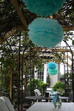 turquoise fluff