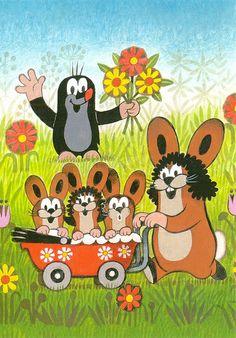 Krtek the little mole poster Cartoon Tv Shows, Cartoon Characters, 90s Childhood, Childhood Memories, La Petite Taupe, The Mole, Kids Prints, Cute Illustration, Kids And Parenting