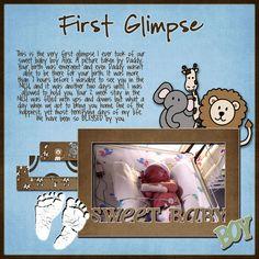 ISO: Preemie or Baby Girl kits & Preemie LO's - DigiShopTalk Digital Scrapbooking
