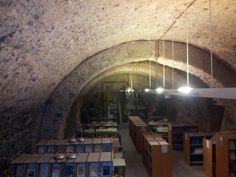 Biblioteca Monastero dei Benedettini in Catania, Sicilia