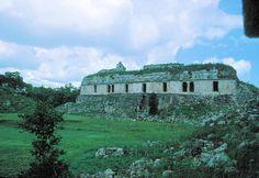 Kabáh Archaeological Ruins. State Of Yucatán On The Yucatán Peninsula, México.
