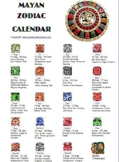 The ancient civilizations of Mesoamerica developed accurate written calendars and of these, the calendar of the Maya is the most sophisticated. Zec - symbol of Intellectual Balance.