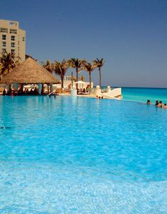 Quintana Roo, Cancun, Hotel Le Blanc Spa Resort, Pool