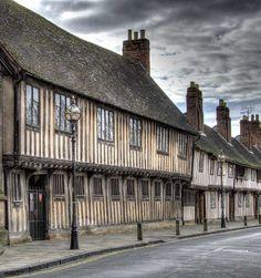 Street in Stratford upon Avon,England