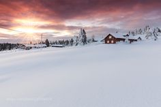 Popular on 500px : Lillehammer Sunset by robk1964