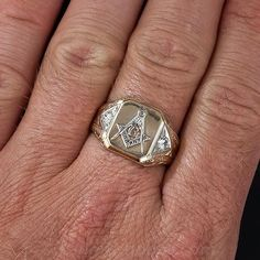 339 Best Masonic vintage rings and jewlry images in 2019 | Vintage