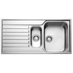 Franke Ascona 1.5 Bowl Stainless Steel Sink & Drainer: Image 1