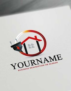 Make Your Own House Electrician Logo With Free Maker