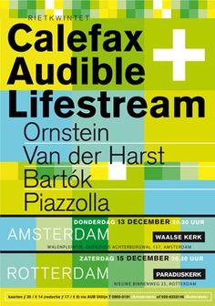 Calefax + Audible Lifestream