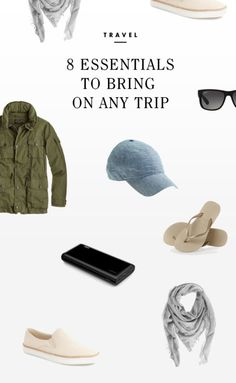 No two trips will ever be the same (isn't that one of the joys of traveling?), but there are still some essentials that can be useful no matter where you're going. Whether you're heading towards sand and. Travel Chic, Travel Wear, I Want To Travel, Travel Packing, Travel Outfits, Packing Tips, Travel Guides, Travel Tips, Travel Info