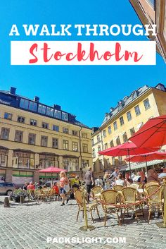 My experience in Stockholm, Sweden, the Capitol of Scandinavia. From my incoming flight to my very last day, I'll take you on a walk through Stockholm through my eyes!