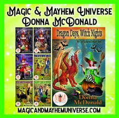 Dragons And Witches and Babas, oh my! Check out Donna McDonald's collection of Magic & Mayhem Universe Tales.  #MagicMayhemUniverse #ebook #pnr #UnleashTheMagic #MMUSeries #paranormal #author #reading