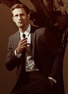 Alexander Skarsgard--AKA: The reason I watch True Blood.