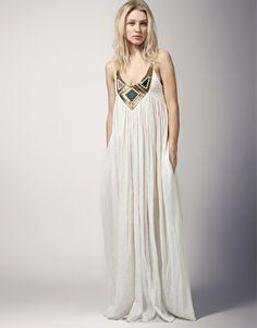 Sass Bide Next In Line Embellished Maxi Dress
