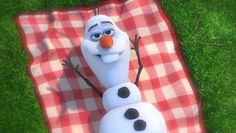 """Frozen Olaf The Snowman Music Video - In SummerOlaf, who burst onto the scene in a magical moment in """"Frozen,"""" counts warm hugs among his passions. Olaf is known for his innocent view of the world, Disney Olaf, Frozen Disney, Olaf Frozen, Frozen Sing, Cute Disney, Disney Magic, Frozen Snowman, Frozen Movie, Walt Disney"""