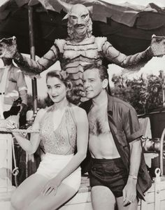 Damsel Lover, Creature from the Black Lagoon (1954)