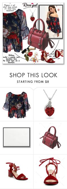 """""""ROSEGAL- How to style floral blouse"""" by lila2510 ❤ liked on Polyvore"""