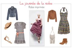 La journée de la robe - Robe imprimée