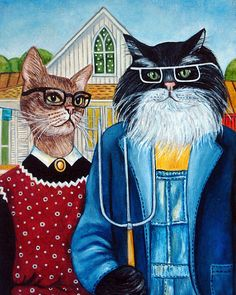 Custom Cat Portraits Cat Paintings Cats in by kMadisonMooreFineArt