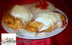 Érdekel a receptje? Kattints a képre! Potato Pie, Kefir, Pulled Pork, Pie Recipes, Food Photo, Food And Drink, Potatoes, Rice, Eggs