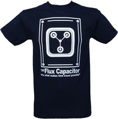 Back To the Future Flux Capacitor Men's T-Shirt From American Classics : TruffleShuffle.com