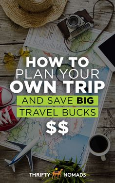 Planning your own trip is one of the EASIEST ways to save money on travel. This step-by-step guide will tell you exactly how! #budgettravel #travelcheap #travelinspiration #travelplanning