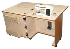 Sewing Machine Cabinets - Sylvia Design Sewing Furniture - Model 810Q Quilter's Cabinet, $1,299.95 (http://www.sewingmachinecabinets.com/sylvia-design-sewing-furniture-model-810q-quilters-cabinet/)