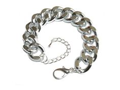 The Perfect Silver Link Braclet - $18.00. http://www.youngrepublic.com/jewelry/bracelets-bangles/the-perfect-silver-link-braclet.html