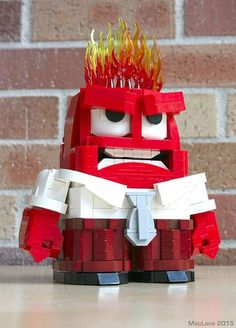 Emotional display - Anger  LEGO Inside Out