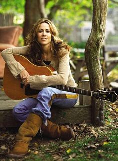 Sheryl Crow: not bad for a former backup singer for Michael Jackson Sheryl Crow, Her Music, Music Is Life, Country Girls, Country Music, Country Singers, Women Of Rock, Guitar Girl, Women In Music