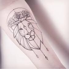 Image result for geometric animal tattoos