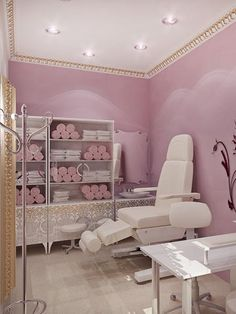 treatment room and nail spa combo