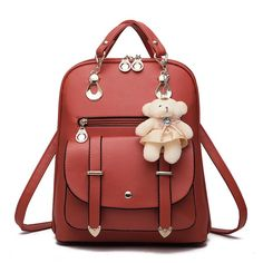 Bear Preppy Style Travel Backpack  backpacksfashiontrend 7740720d21379