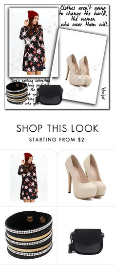"""""""dress 45"""" by umay-cdxc ❤ liked on Polyvore featuring vintage"""