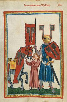 Codex Manesse 149v Wolfram von Eschenbach - Wolfram von Eschenbach – Wikipedia