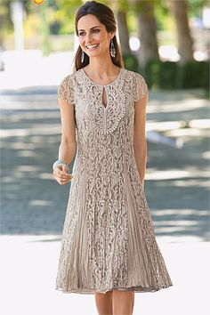 Dresses - Together Crinkled Lace Dress