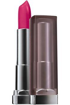 Deep Fuchsia ~ Maybelline NY Color Sensational Creamy Matte Lip Color in Mesmerizing Magenta