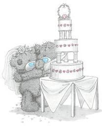Big Cake For Tatty Teddy Graphic