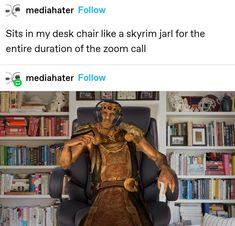 Elder Scrolls Memes, Elder Scrolls Lore, Elder Scrolls Skyrim, Video Game Memes, Video Games Funny, Funny Games, Haha Funny, Hilarious, Funny Stuff