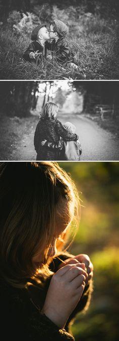 Photographier une fratrie en lifestyle - enfants se faisant un bisou // Zépjyr et Luna Photographie