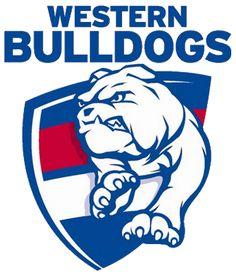 Western Bulldogs v West Coast Eagles Bulldogs Team, Western Bulldogs, Bulldogs Football, Football Team, Wallpaper English, West Coast Eagles, Australian Football League, Football Crafts, Soccer Logo