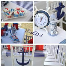 little My fave this summer! All things blue Sailors, Lighthouse, All Things, Parties, Cupcakes, Summer, Blue, Bell Rock Lighthouse, Fiestas