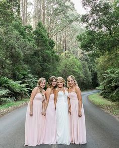 Candice and her stunning bridesmaids!   #wedding #weddingday #love #beautiful #bride #bridesmaids #friends #greatoceanroad #otwaysnationalpark #otways #lorne #lornewedding #pastels #australia #marriage #melbournewedding #melbourneweddingphotographer #melbourneweddingphotography #romantic #summer #whiteshutterphotography #instafollow #instawedding #weddinginspiration by white_shutter_photography http://ift.tt/1IIGiLS