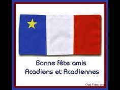 Acadie de nos coeur Acadie, Flag, Happy Name Day, Landscapes, Vacation, Flags